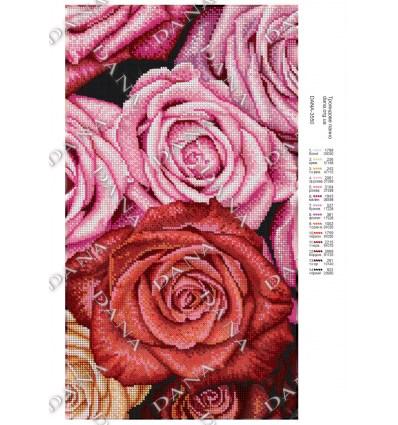 Красные розы DANA-3399