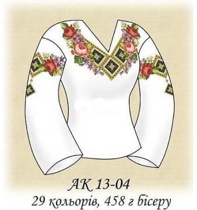 Заготовка блузки АК 13-04