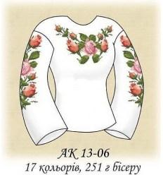 Заготовка блузки АК 13-06