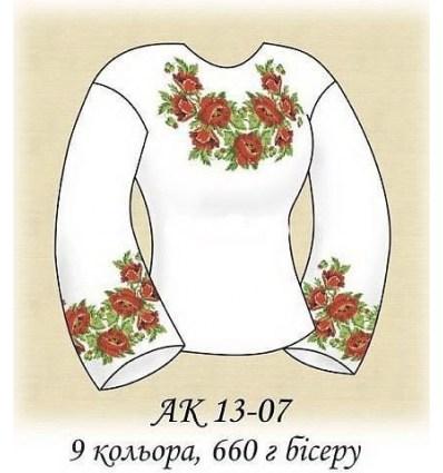 Заготовка блузки АК 13-07