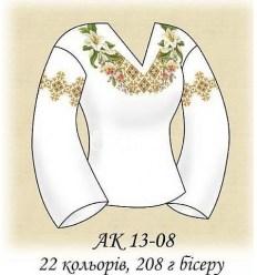 Заготовка блузки АК 13-08