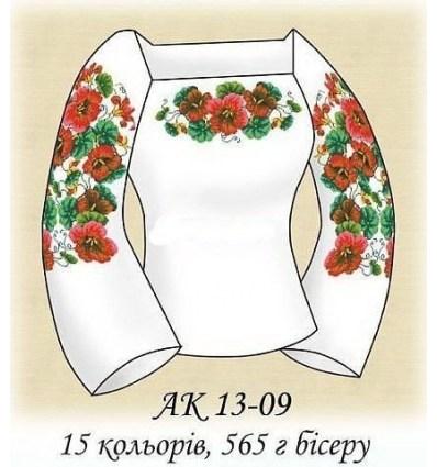 Заготовка блузки АК 13-09