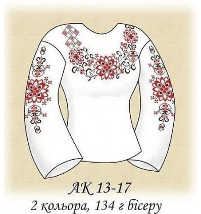 Заготовка блузки АК 13-17