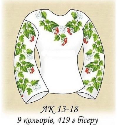Заготовка блузки АК 13-18