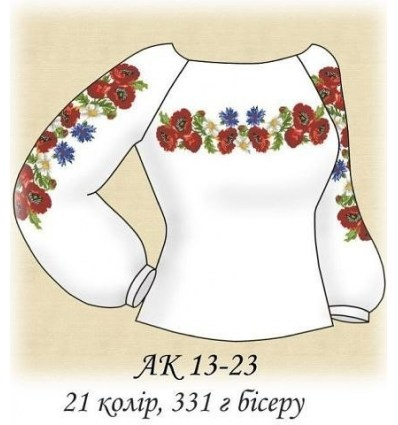 Заготовка блузки АК 13-23