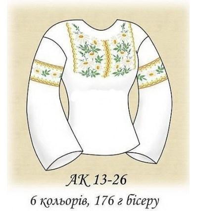 Заготовка блузки АК 13-26