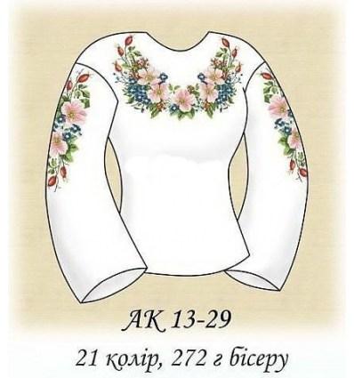 Заготовка блузки АК 13-29