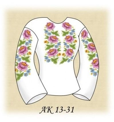 Заготовка блузки АК 13-31