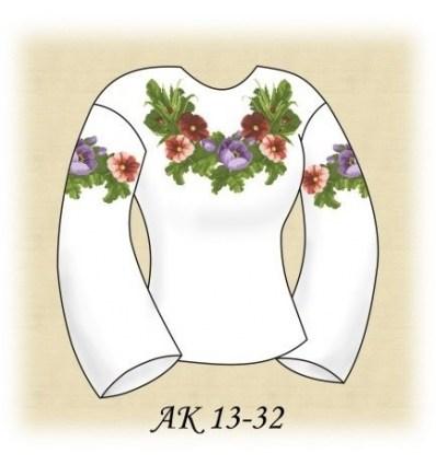 Заготовка блузки АК 13-32