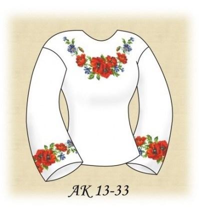 Заготовка блузки АК 13-33