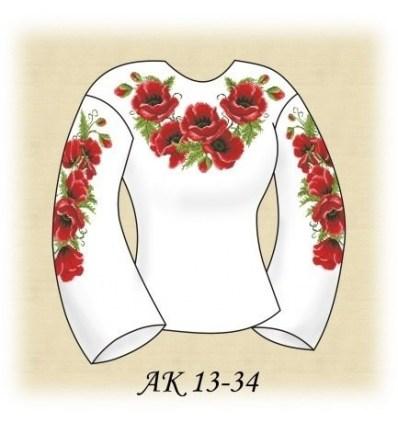 Заготовка блузки АК 13-34
