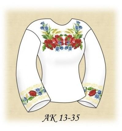 Заготовка блузки АК 13-35