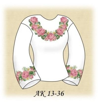 Заготовка блузки АК 13-36