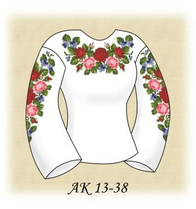 Заготовка блузки АК 13-38