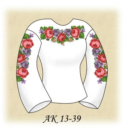 Заготовка блузки АК 13-39