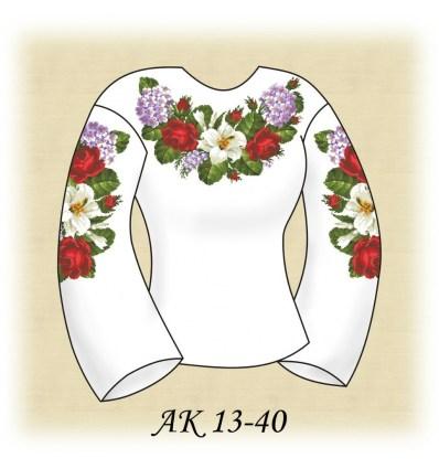 Заготовка блузки АК 13-40