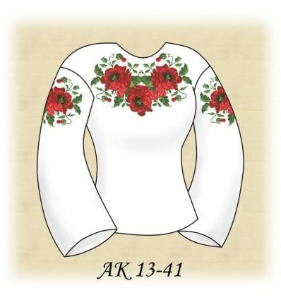 Заготовка блузки АК 13-41