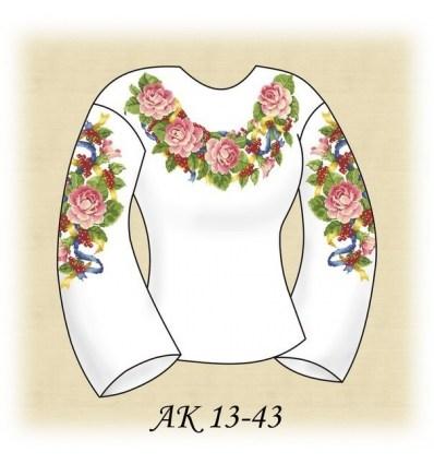 Заготовка блузки АК 13-43