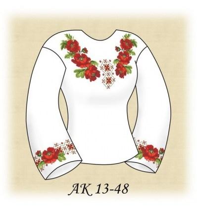 Заготовка блузки АК 13-48