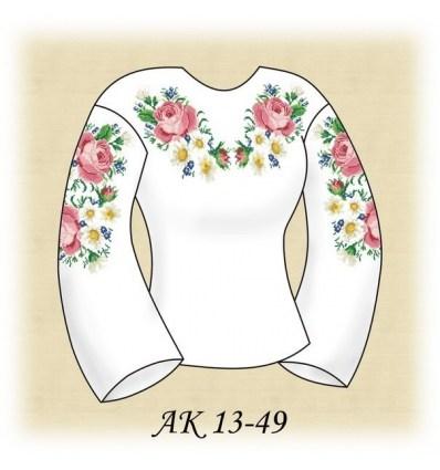 Заготовка блузки АК 13-49