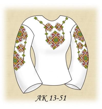Заготовка блузки АК 13-51