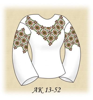 Заготовка блузки АК 13-52