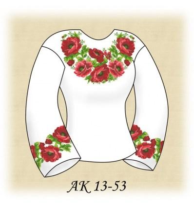 Заготовка блузки АК 13-53