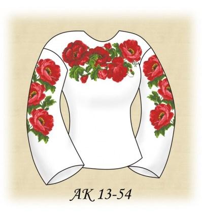 Заготовка блузки АК 13-54