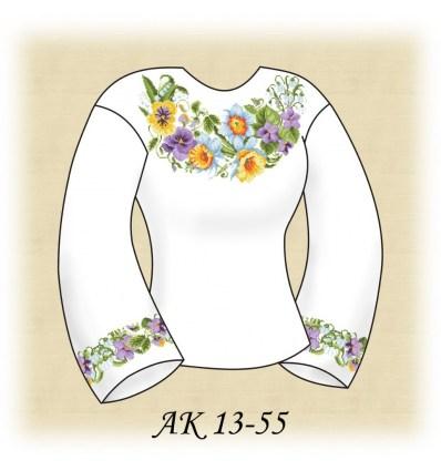 Заготовка блузки АК 13-55