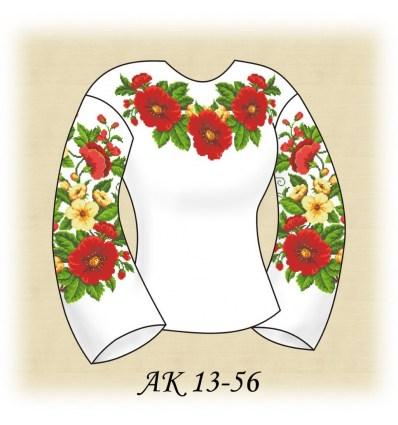 Заготовка блузки АК 13-56