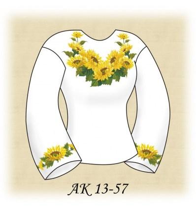 Заготовка блузки АК 13-57