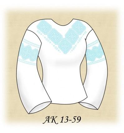 Заготовка блузки АК 13-59