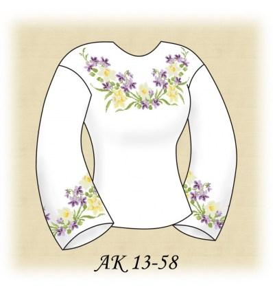 Заготовка блузки АК 13-58
