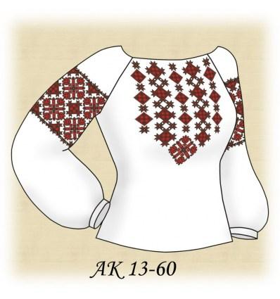 Заготовка блузки АК 13-60