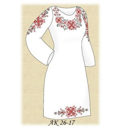 Заготовка плаття АК 26-17