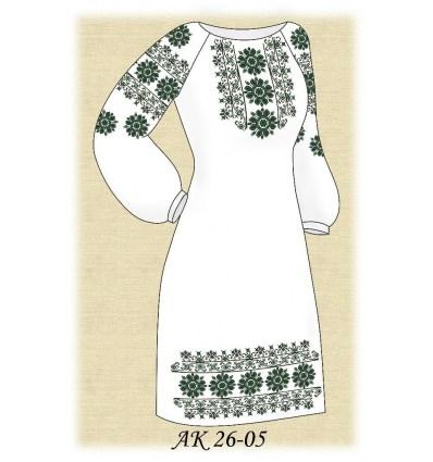 Заготовка платья АК 26-05