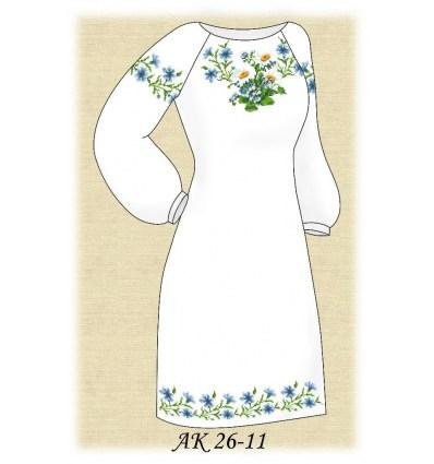 Заготовка платья АК 26-11