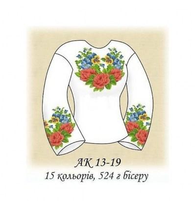 Заготовка блузки АК 13-19