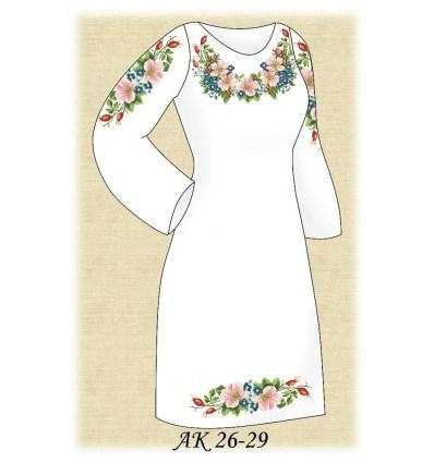 Заготовка платья АК 26-29