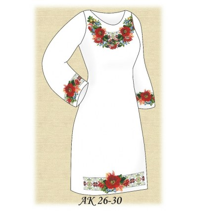 Заготовка платья АК 26-30