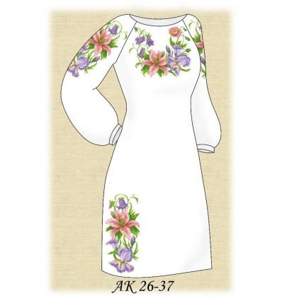 Заготовка платья АК 26-37