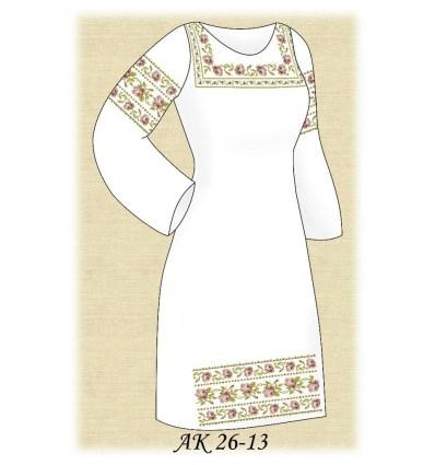 Заготовка платья АК 26-13