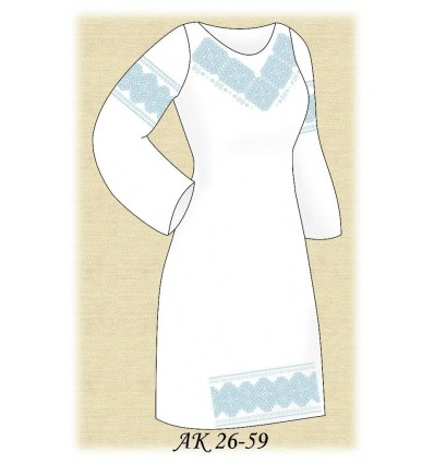 Заготовка платья АК 26-59