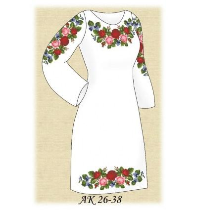 Заготовка платья АК 26-38
