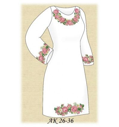 Заготовка платья АК 26-36