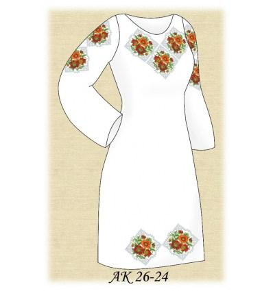 Заготовка платья АК 26-24