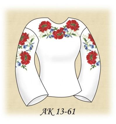 Заготовка блузки АК 13-61