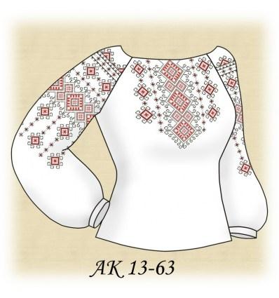 Заготовка блузки АК 13-63