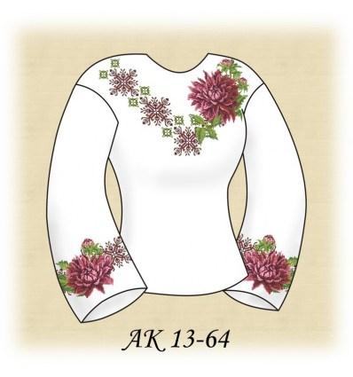 Заготовка блузки АК 13-64