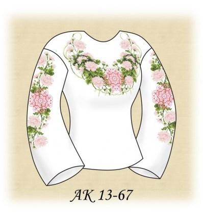 Заготовка блузки АК 13-67